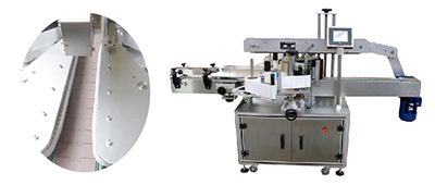 2 side labeling machine